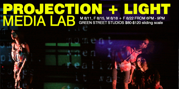 Projection + Light Media Lab